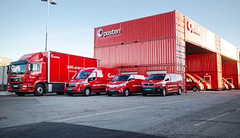 Posten bestiller 439 nye biler på fornybar energi
