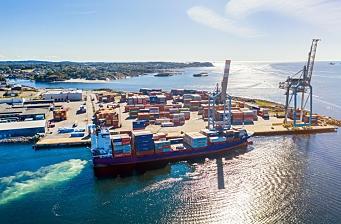 Et utfordrende år for Larvik Havn